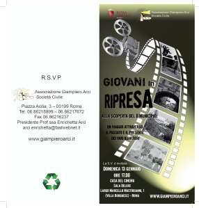 Locandina documentario con Gianluca Pistoia